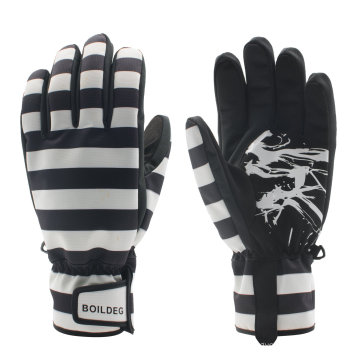 Mode Verstärkte Fingerspitzen Outdoor Sports Thinsulate Warme Skihandschuhe