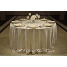 обычный стиль крышка стола атласная ткань / оверлея для свадьбы banquet отель