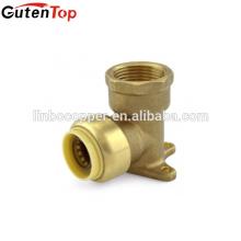 GutenTop Push Fit raccord coude d'oreille Drop connecteur rapide avec PEX COPPER tuyau CPVC