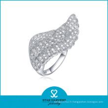 Anneau à rayons en forme d'anneau en argent sterling grossiste (SH-R0052)