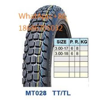 Мотоцикл шин/мотоцикл шина 3,00-17 3.00-18 горячие продажи шаблон