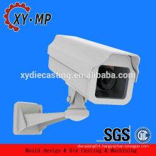 Customized aluminum material spare parts for cctv camera/ip camera housing