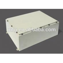 Sheet metal distrubution enclosure-powder coating
