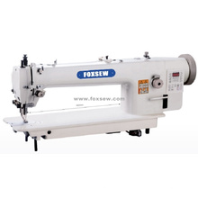 Long Arm Direct Drive Top and Bottom Feed Sewing Machine with Auto-Trimmer