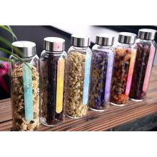 OEM / Customized High Borosilicate Glass Transperent Air Tight Glass Jar