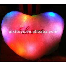 Relleno LED almohada luminosa, almohada de felpa