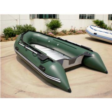 Barco inflável de PVC de alta velocidade
