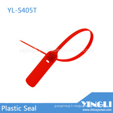Sceau de sécurité en plastique pour le scellement et le marquage (YL-S405T)