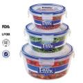 serrure et garniture bpa nourriture empilable gratuite contenant étanche