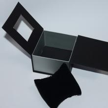 Boîte de montre de luxe avec oreiller pour montre unique