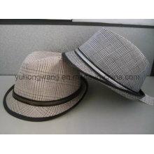 Sombrero caliente de Fedora del caballero de la gorra