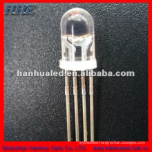 Christmes LED light diode most important part 5mm RGB led tricolor dip led