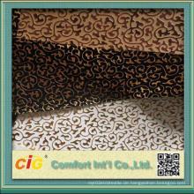 Chinesische gute Qualität geprägtes Design PVC Leatheroid Vinyl