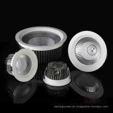Lâmpada embutida LED COB quadrada redonda IP65 impermeável
