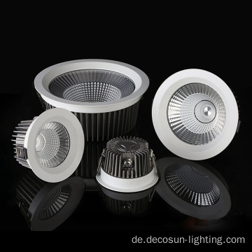 Quadratische runde IP65 wasserdichte COB LED Downlight
