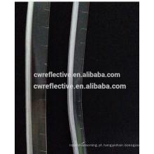 Tubulação reflexiva transparente do pvc de 1cm para costurar na barraca e em commetic