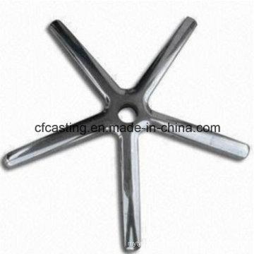 Aluminum Die Casting Chair Base Parts for Machine Part
