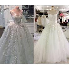 Ball Gown Thicker Wedding Dress with Inner Petticoat