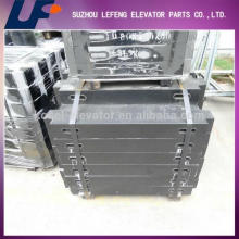 High quality and Cheap Elevator safety parts elevator counterweight
