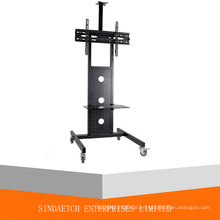 Carrito de montaje de TV LED / LCD / Plasma con soporte para DVD