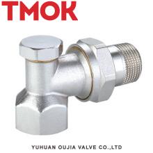 Níquel em latão DN15 com válvula termostática de latão
