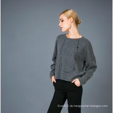Dame Mode Kaschmir Blend Pullover 17brpv004