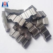 High Efficiency Diamond Drilling Tool Straight Groove Shaped Diamond Core Drill Bit Segment