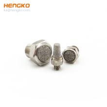 Sintered Brass Stainless Steel SS 316L Bronze Pneumatic Fitting