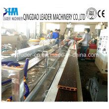 Máquina de extrusão de perfil de PVC WPC de dupla camada