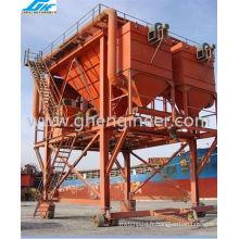 Réservoir à débris de caoutchouc à 100 cbm pour déchargement de port (GHE-RTDH-310)