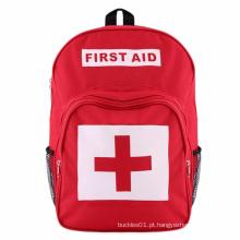 Kit de primeiros socorros para mochila de poliéster de emergência com bolsa médica