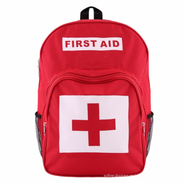 Bolsa médica Mochila de poliéster de emergencia Botiquín de primeros auxilios