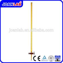 JOAN Lab Glassware Burets Amber Com Fabricação de Bateria de PTFE