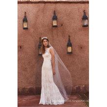 New Lace Mermaid Fashion Laides Clothes Wedding Dress (BH003)