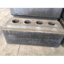 Ânodo de carbono usado na célula de eletrólise de alumínio