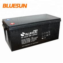 Bluesun batería de larga duración de larga vida útil de almacenamiento de energía solar VRLA 12V 200Ah