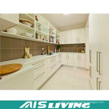 Muebles del gabinete de cocina durables de la L-forma del diseño simple (AIS-K248)