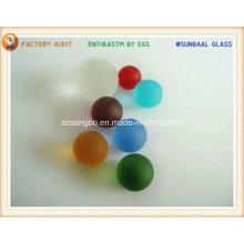 Bola de cristal transparente y cristal grano proveedor