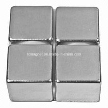 Cube Magnets with Low Weight Loss
