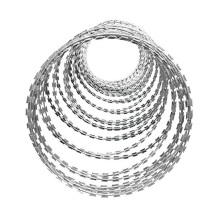 high strength razor wire Concertina Wire for Perimeter Security