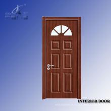 Portas exteriores de cicuta de madeira maciça