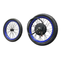 17inch 18inch 19inch 5000W electric motorcycle bicycle rear conversion kit with optional battery