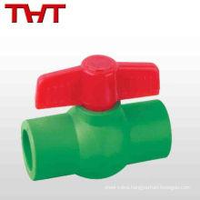 good price welded ppr palstic ball valve