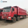 Camion-benne SINOTRUK HOWO 8x4 375hp d'occasion