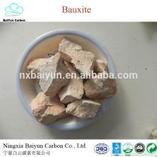Suministro de China precio de bauxita calcinado al 75%