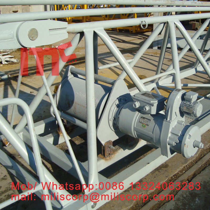 tower crane trolley motor