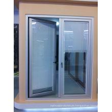 aluminum side-hung glass door