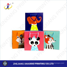 Customized Size!3D design cartoon paper shopping bag brand name,cheap paper shopping bag,custom luxury paper shopping bag