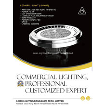 Private Model 12.5W LED AR111 Track Light with Dimmable (LS-S012-G53)
