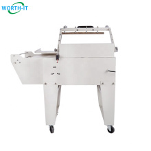 Carton Wrapping Heat Shrink Cutting Machine CE Packaging Equipment L Sealer Machine Film Packaging Plastic Packaging Material